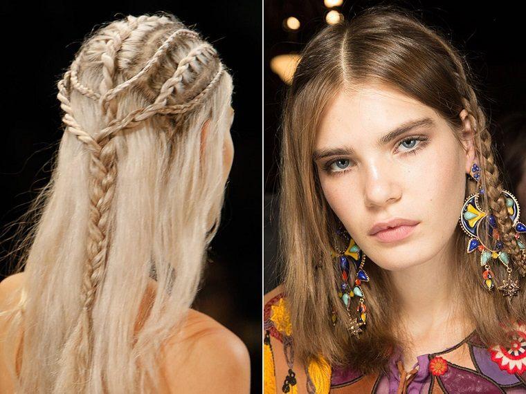 peinados de moda para el verano tendencias 2017