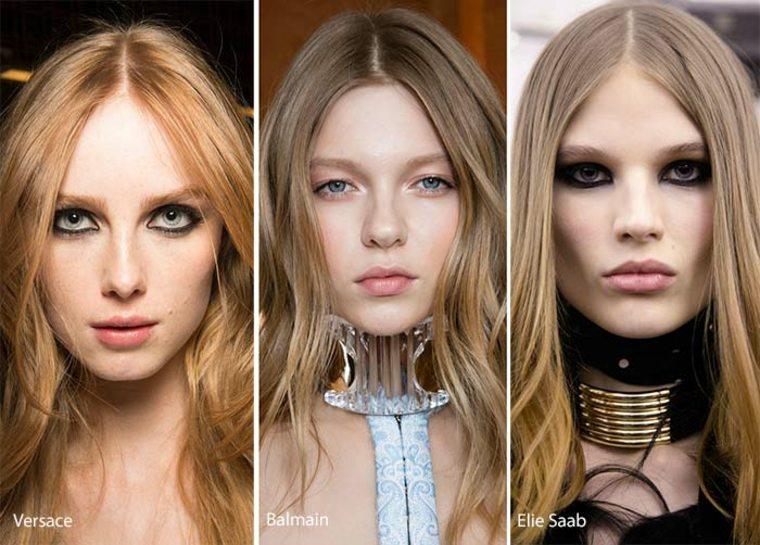 corte de pelo recto y limpio esta mirada ha sido popular en las modelos y en la pasarela con una parte media este cabello se muestra