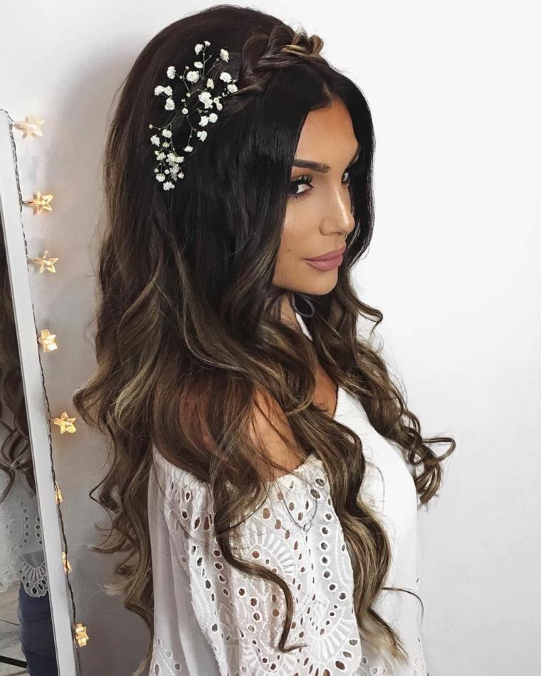 peinados para bodas pelo largo suelto - Peinados Pelo Largo Suelto