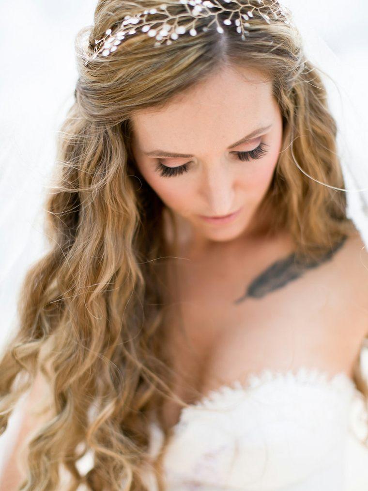 Peinados para bodas las tendencias de moda para el 2017 - Como hacer peinado para boda ...