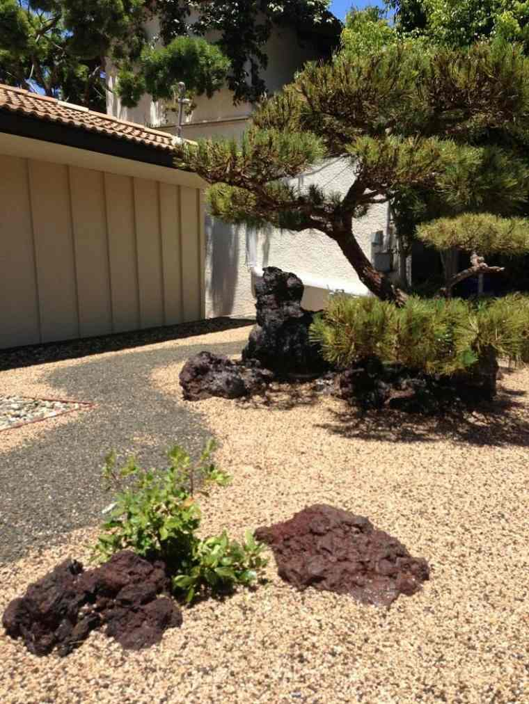 estupendas ideas de paisajismo Zen