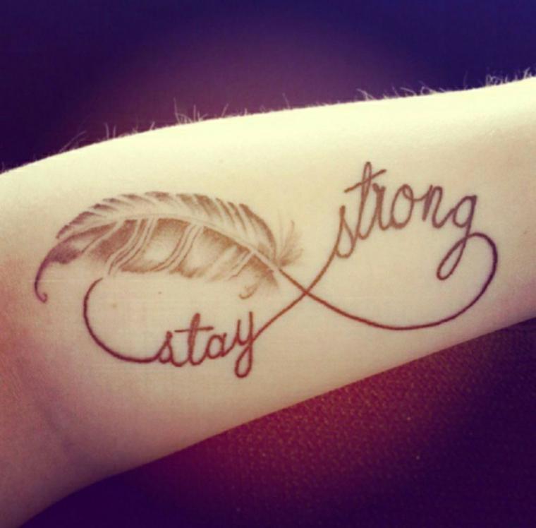 plumas para tatuajes