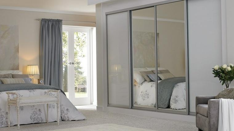 puertas acristaladas modernas altas