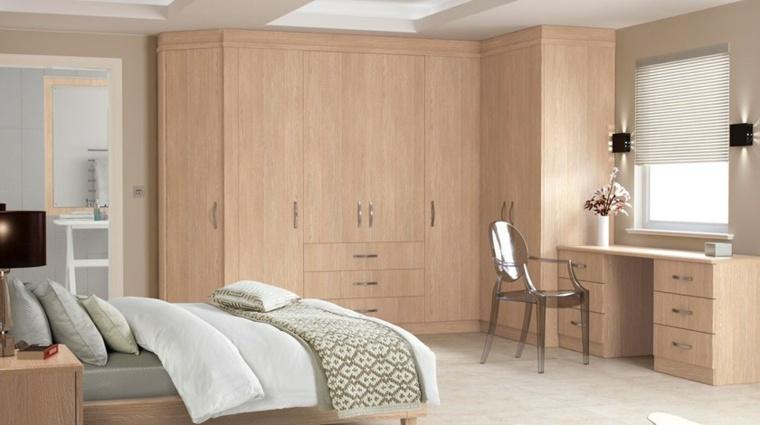sillas madera dormitorio roble