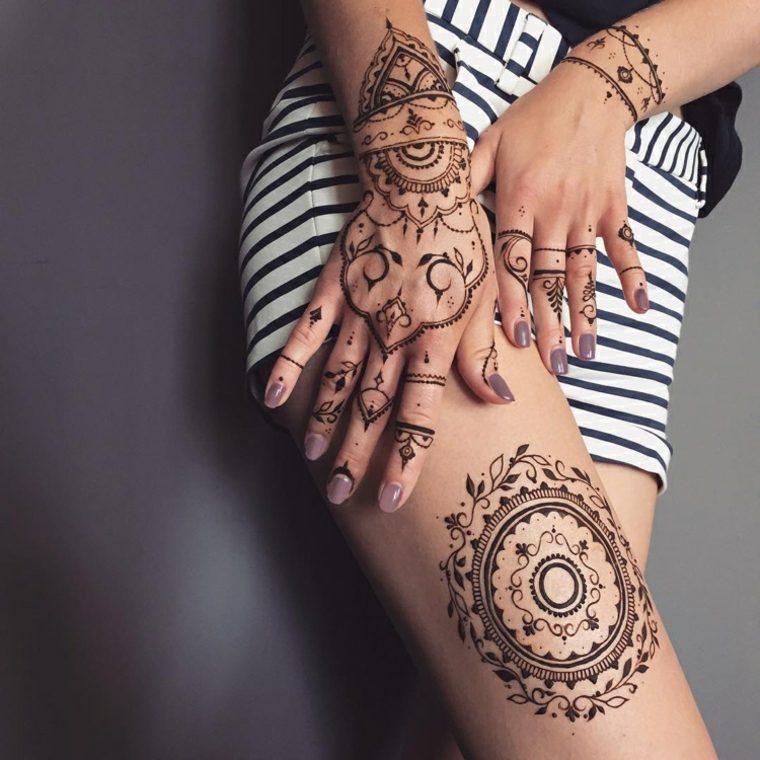 tattoos de henna