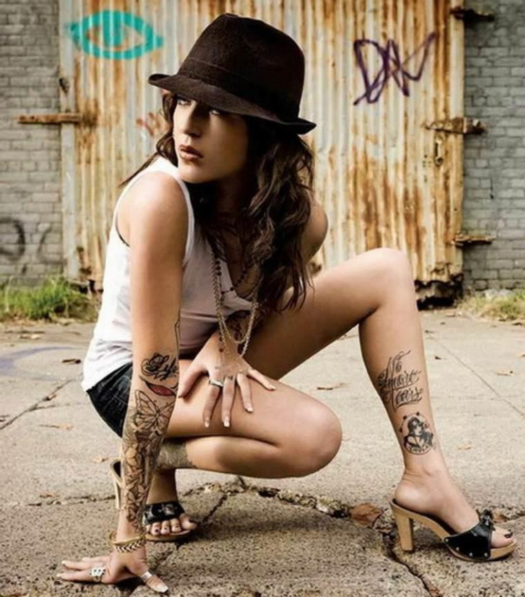 tatuaje gemelo mujer