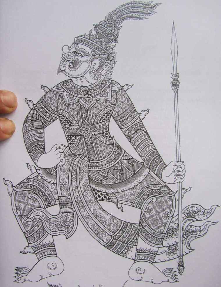 tatuaje-original-guerrero-tailandes