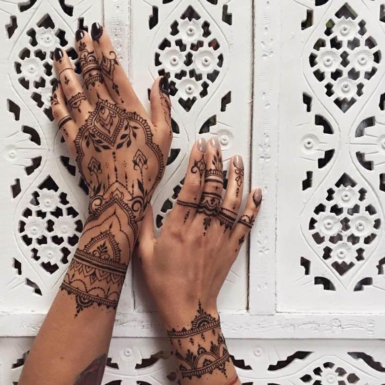 tatuajes de henna bonitos
