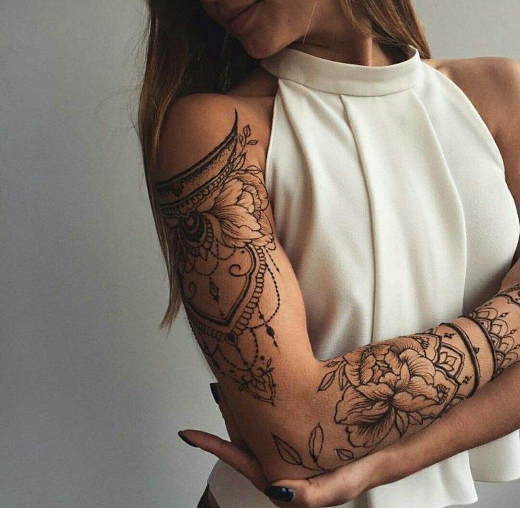 tatuajes de henna brazos