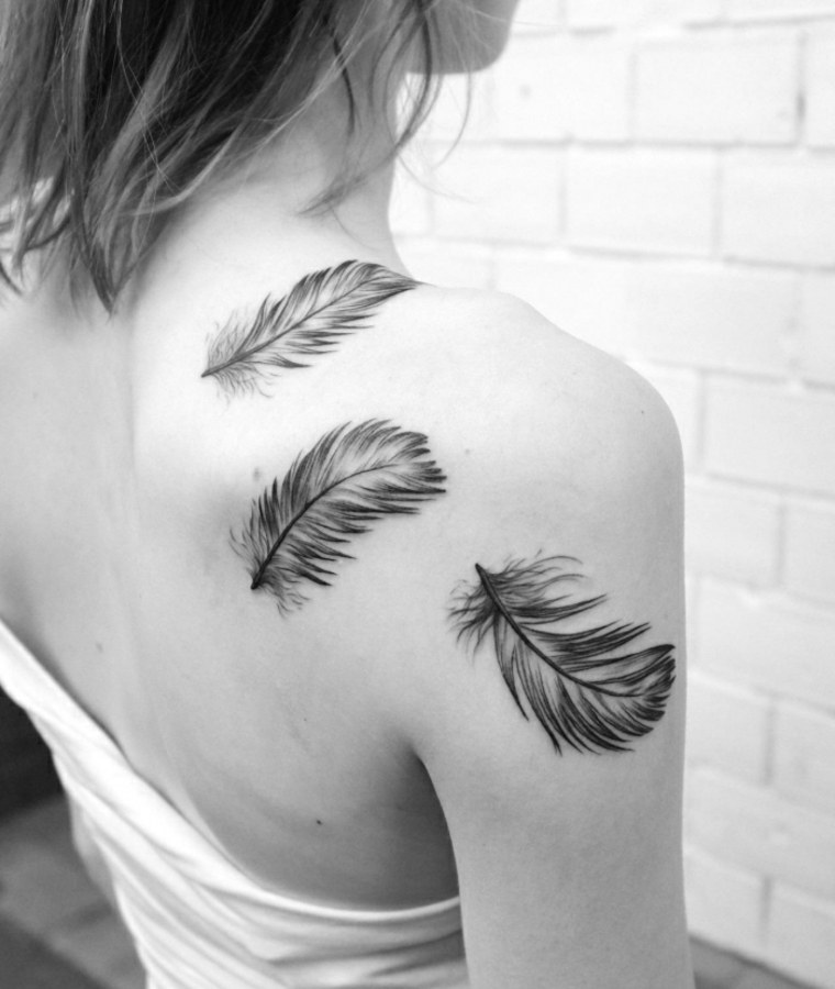 Tatuajes De Plumas El Significado Que Queda Grabado En El Cuerpo
