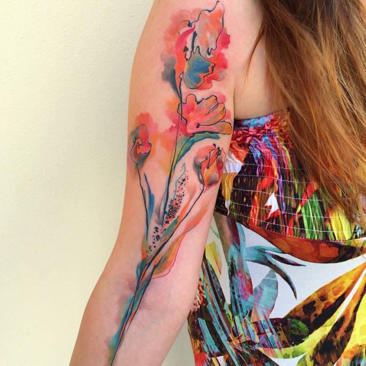 tatuajes diseño brazos estilos
