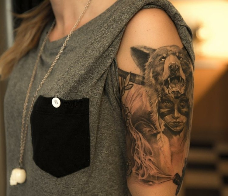 tatuajes diseño naturaleza inspirados