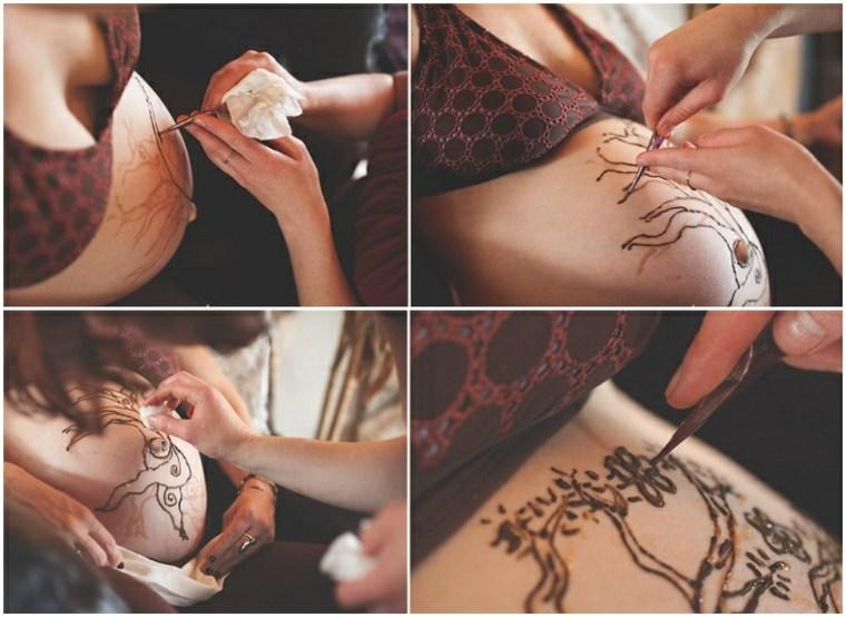 tatuajes henna mujeres