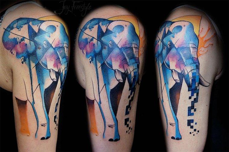 Tatuajes Media Manga Originales Para Hombres Y Mujeres