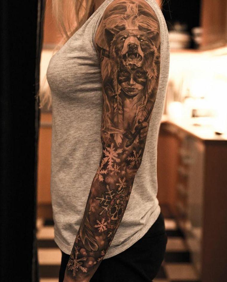 Tatuajes Brazo Unos Diseños Interesantes De Flora Y Fauna