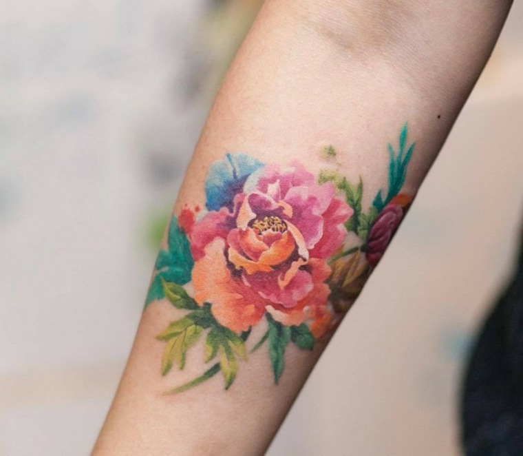 Tatuajes Originales Utilizando Las Acuarelas Para Tatuar