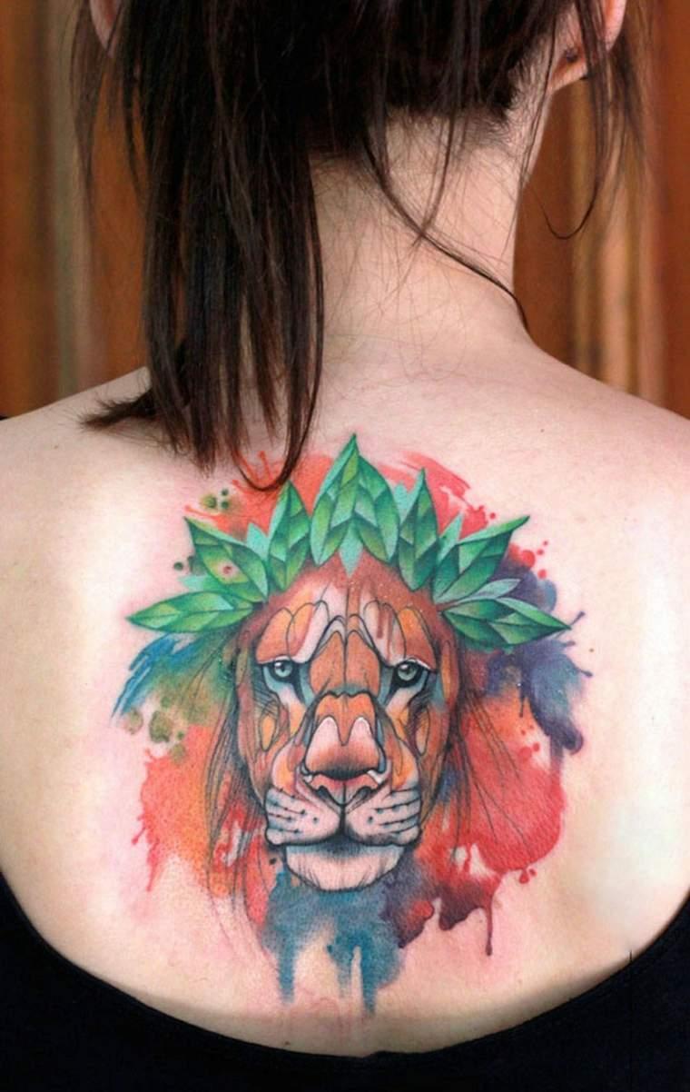 tatuajes originales para mujeres espalda