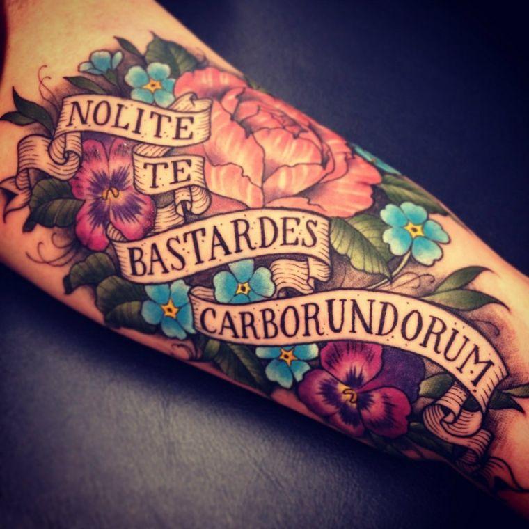 tatuajes-originales-flores-frases