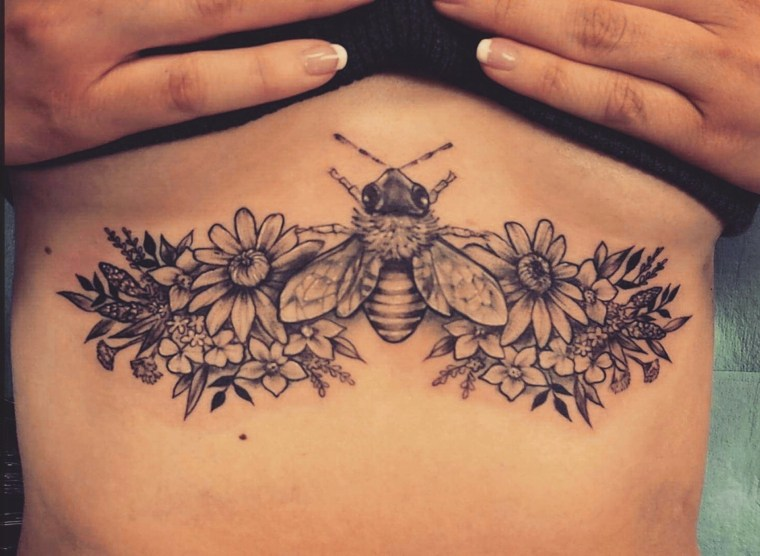 tatuajes para mujeres-flores