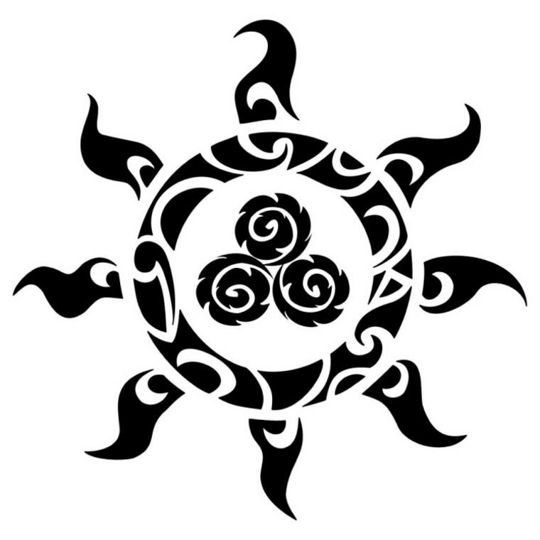 tatuajes polinesios el gran significado de sus s mbolos. Black Bedroom Furniture Sets. Home Design Ideas