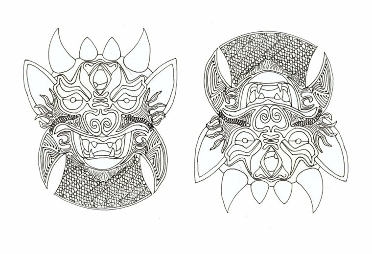 tatuajes-tailandeses-diablo
