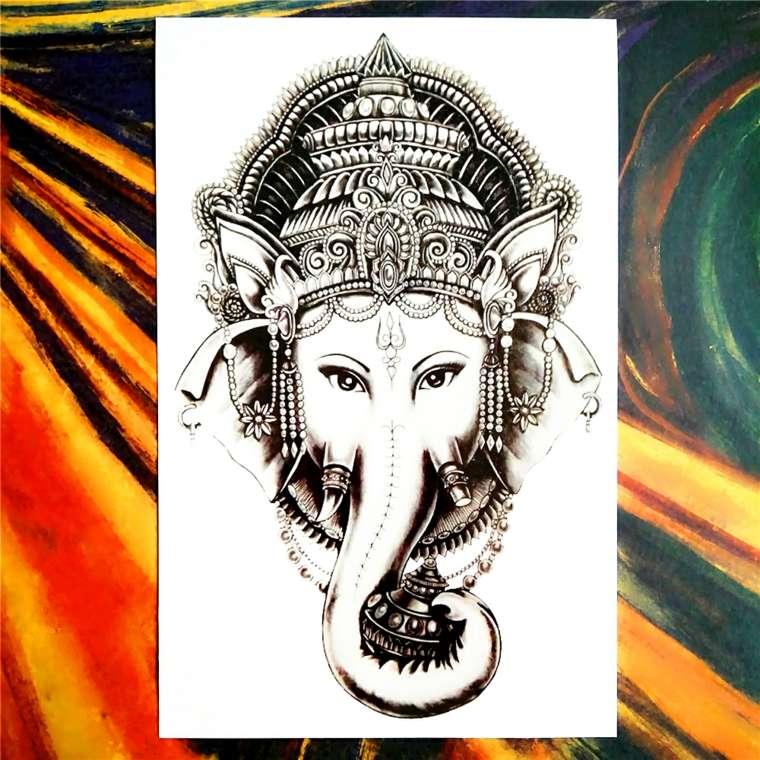 tatuajes-tailandeses-elefante-dios-tiempo