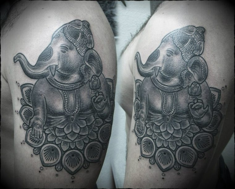 tatuajes-tailandeses-elefante-opciones