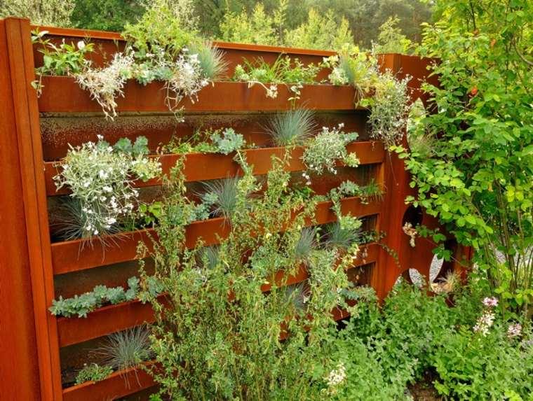 vallas de jardin modernas