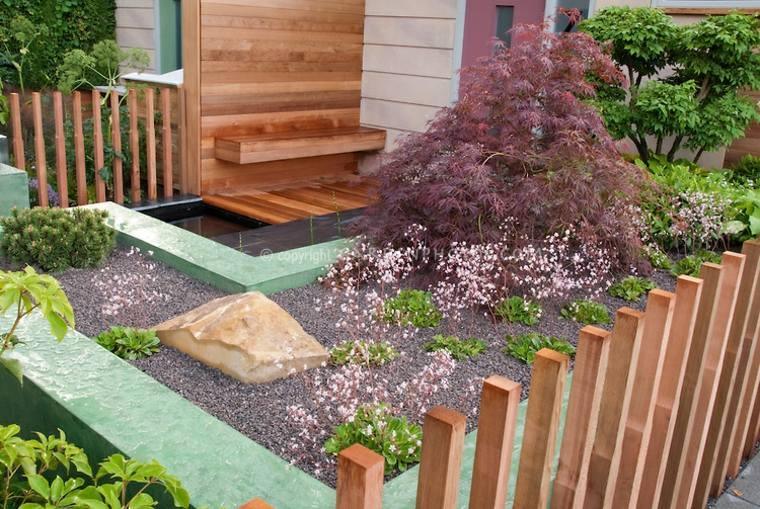 estupendas ideas de paisajismo estilo Zen