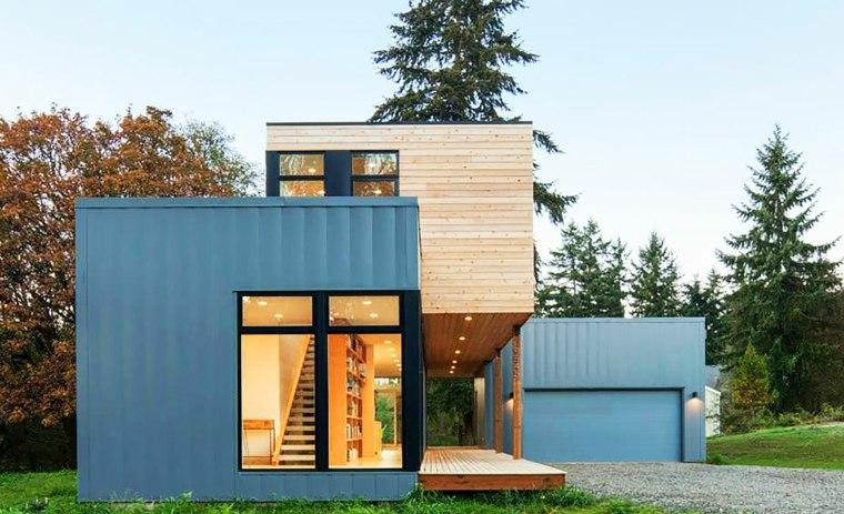 viviendas modulares prefabricadas-pequeñas-modernas