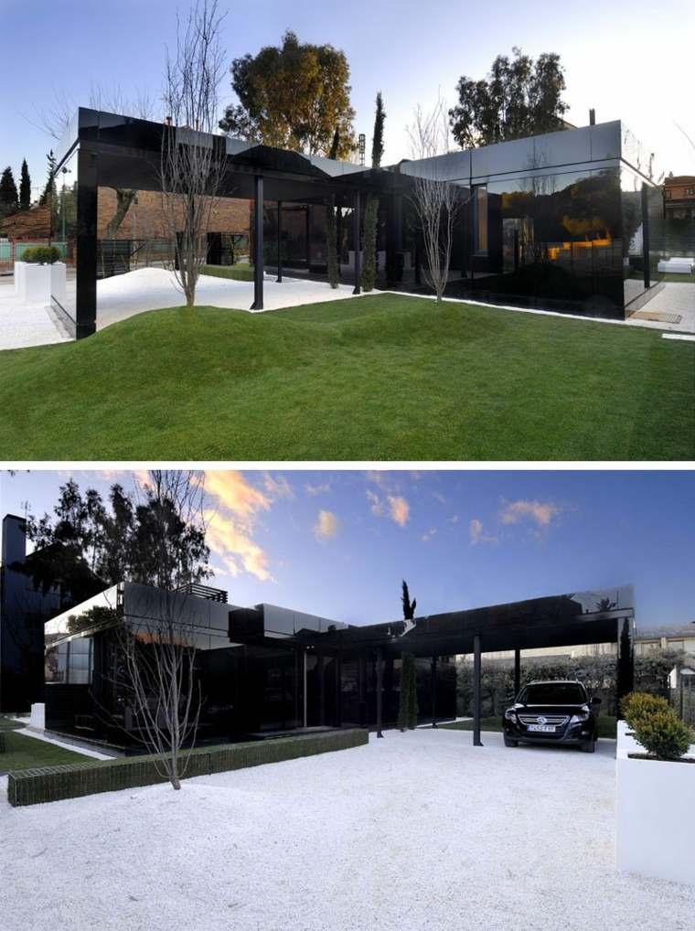 ejemplos de fachadas modernas