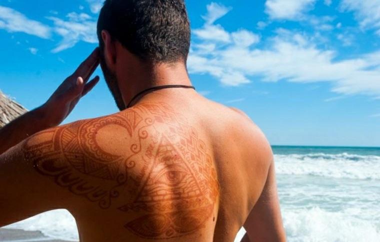 tatuajes de henna diseños
