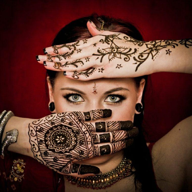 Tatuajes de henna significado diseos y mucho ms