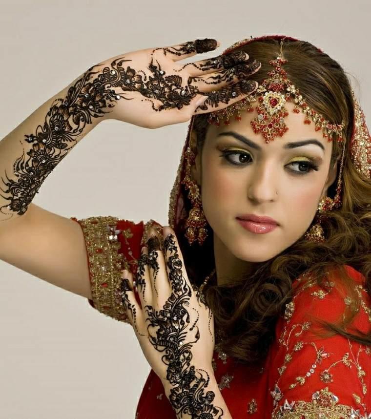 tatuajes de henna hindues