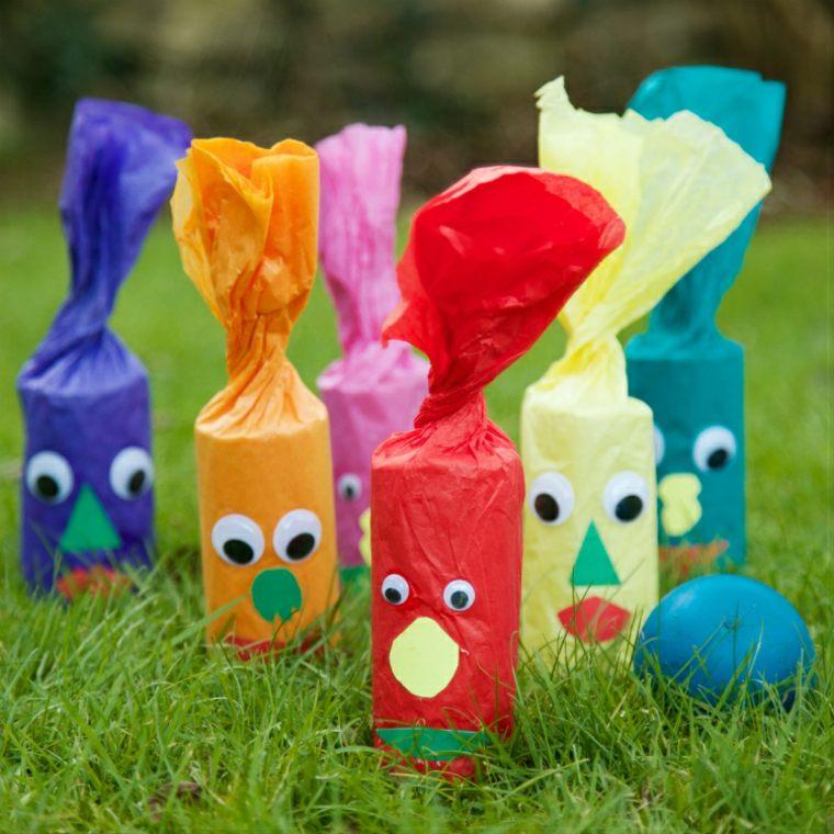 actividades para niños bolos coloridos