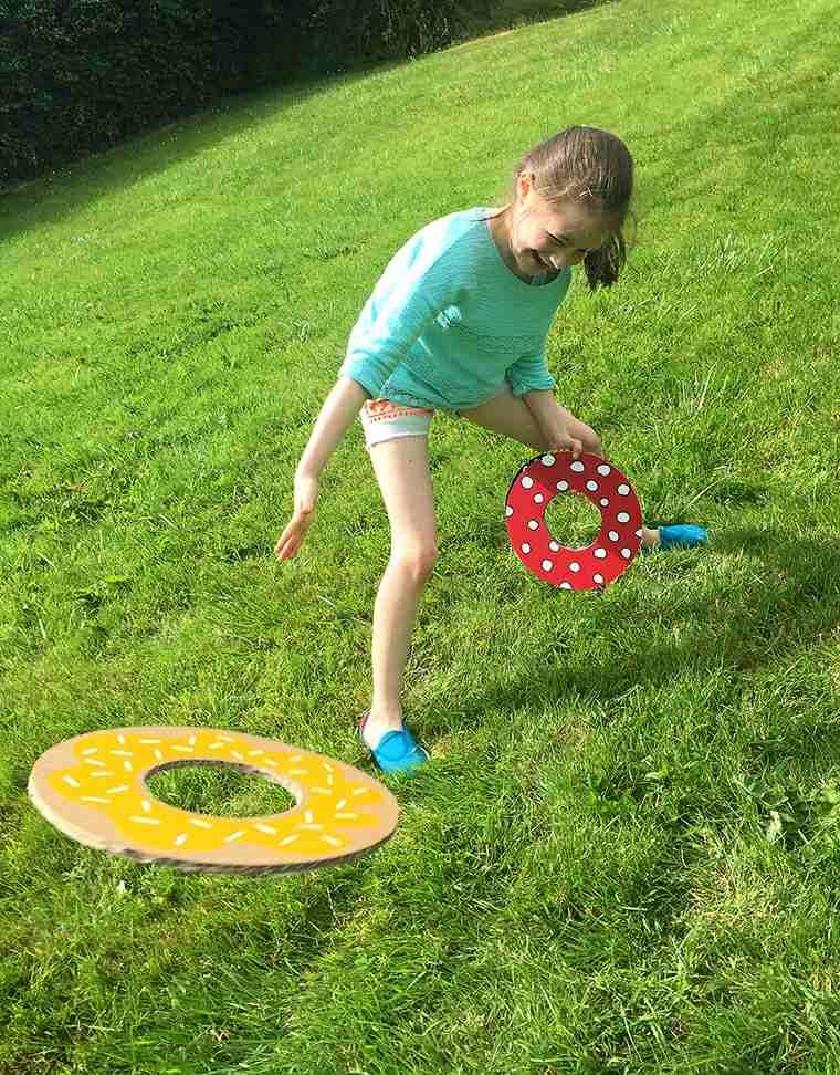 actividades para niños colorido patio