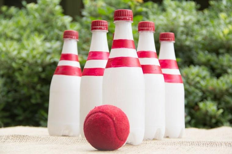 actividades para niños recuperadas botellas