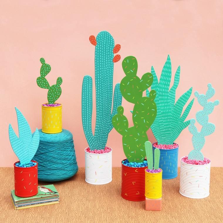 actividades-para-ninos-cactus-plantas-papel