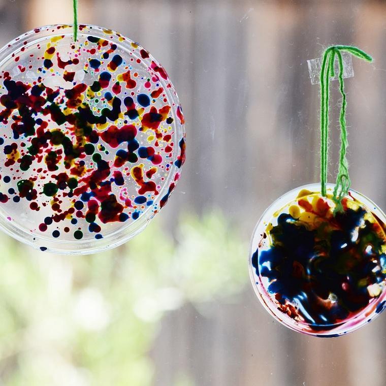 actividades para niños-decorar-ventana