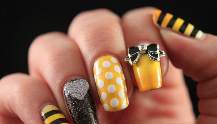 Decoracion de uñas con efectos increíbles y creativos