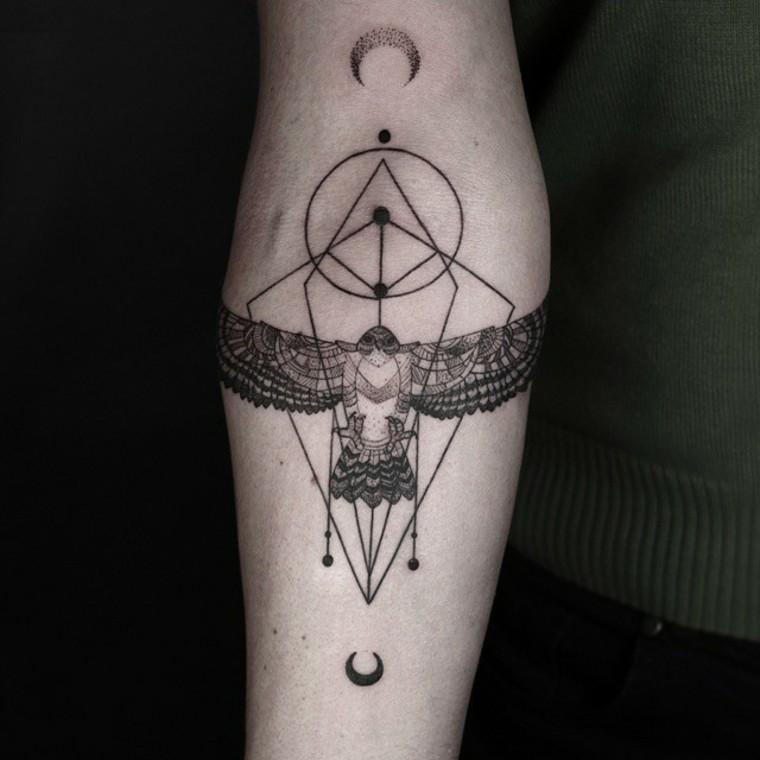 Tatuajes De Animales Geometricos Y De Estilo Minimalista