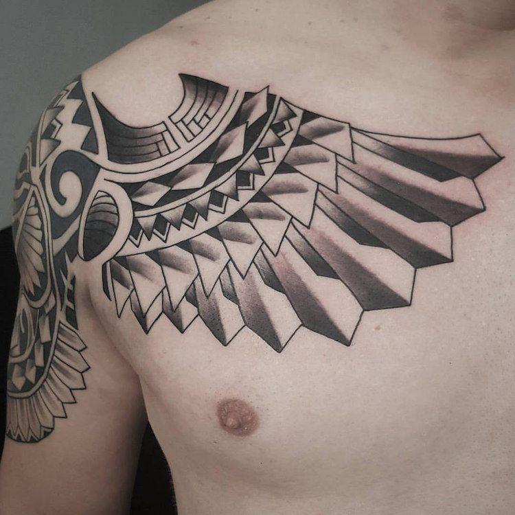 angeles tatuajes modelos esculturales