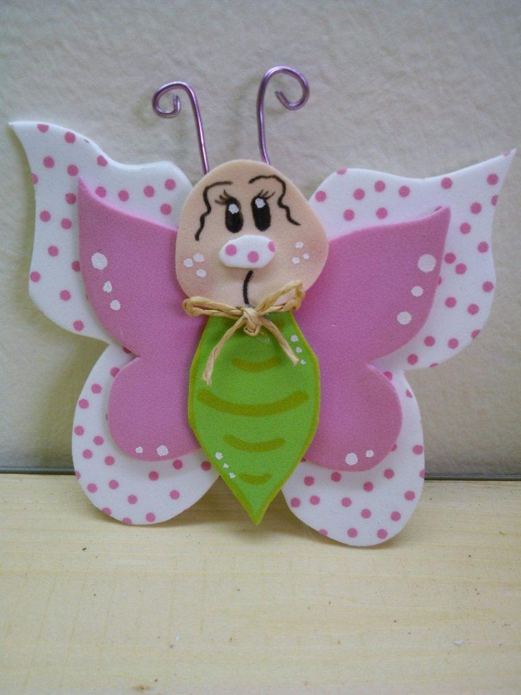 baja mariposa sencilla foamy