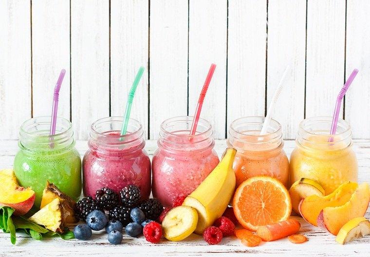 batidos de proteinas frutas-opciones