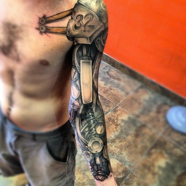 Tatuajes biomecánicos originales