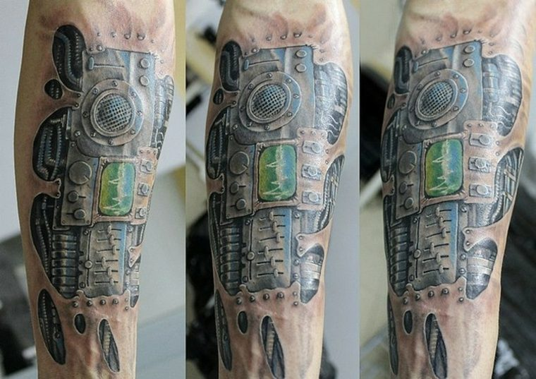 Tatuajes biomecánica