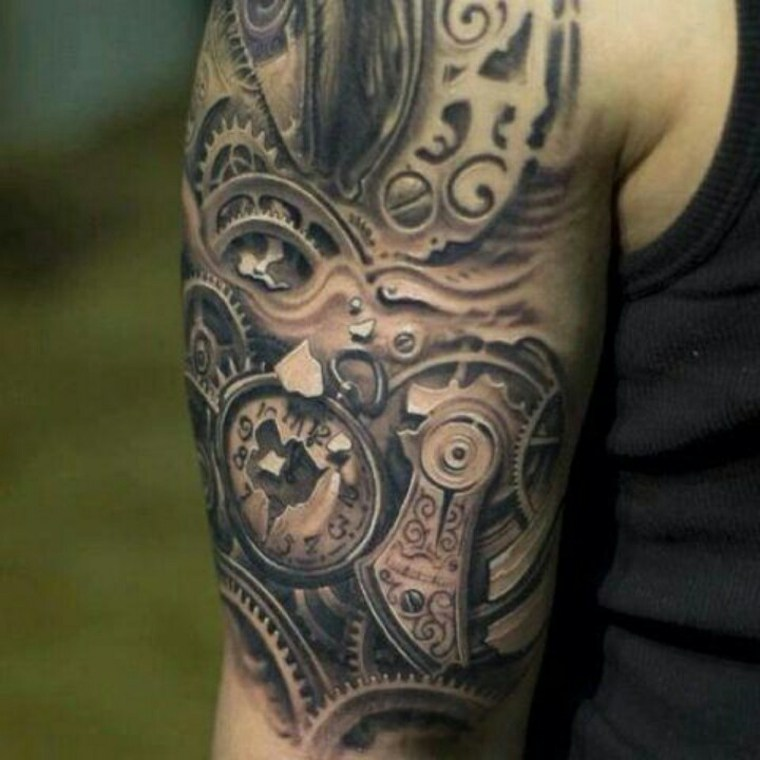 Tatuajes de biomecánica