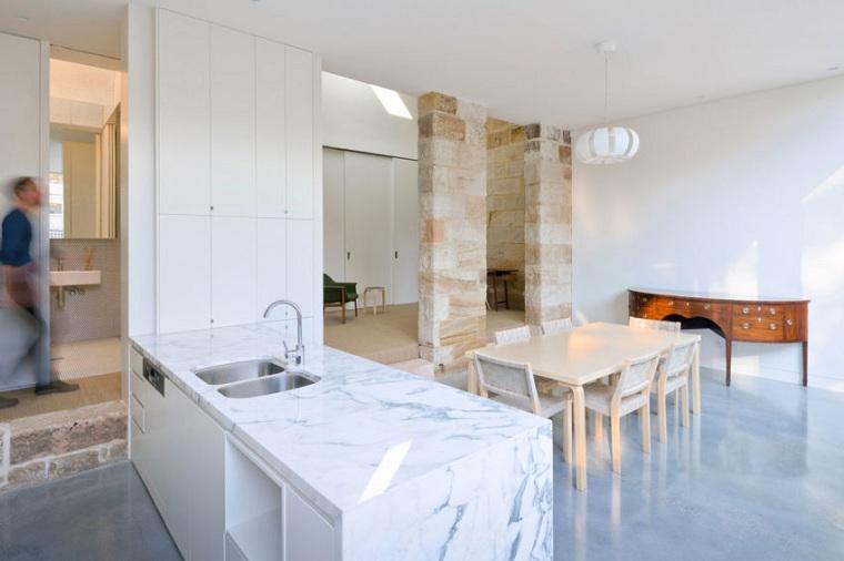 cocina-minimalista-mesa-madera-estilo