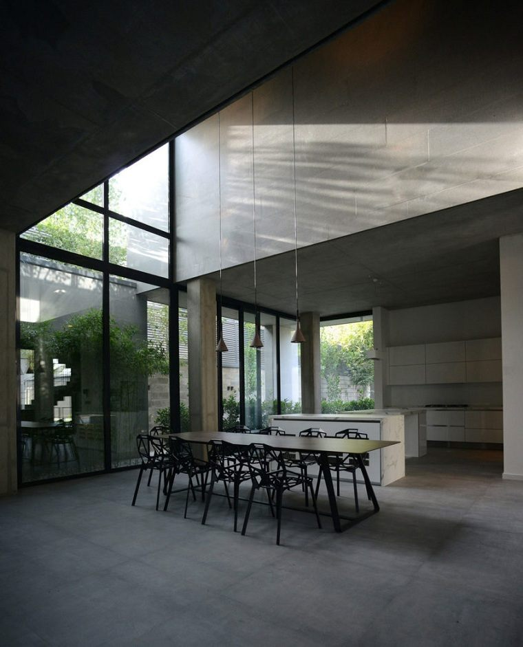 cocina-moderna-estilo-studio-Kamran-Heirati-Architects