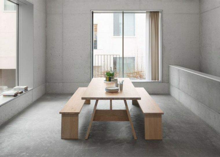 mesa de comedor minimalista